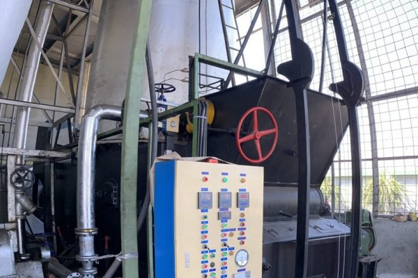 Chain-Grate Thermal Oil Heater in Beverage Processing Plant