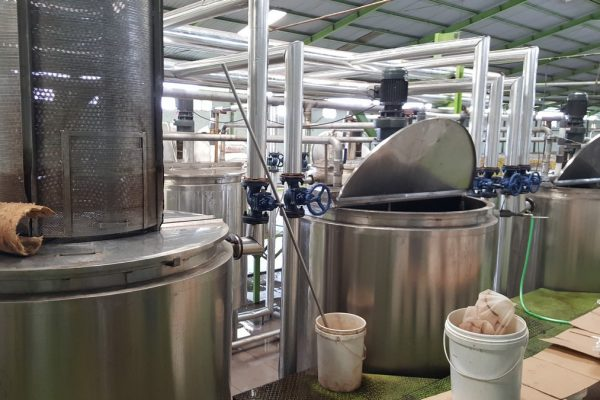Double Jacket Tank in Beverage Processing Plant