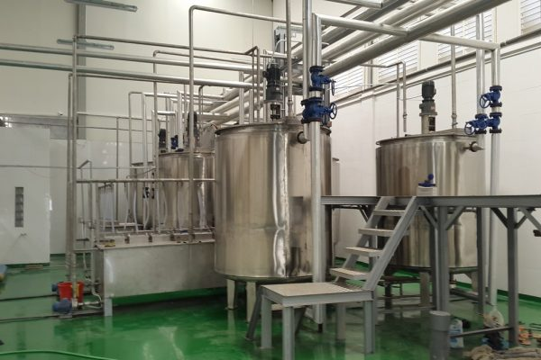 Double Jacket Tank in Tea Extract Processing Plant