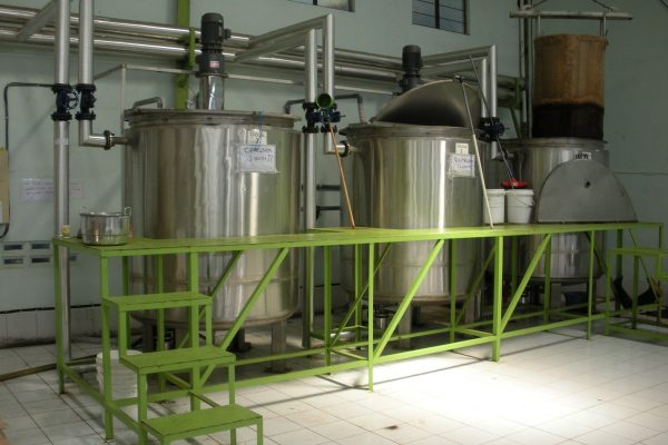 Double Jacket Tank in Tea Processing Plant(1)