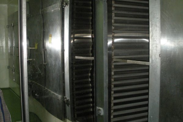 Oven Rack in Herbal Processing Plant