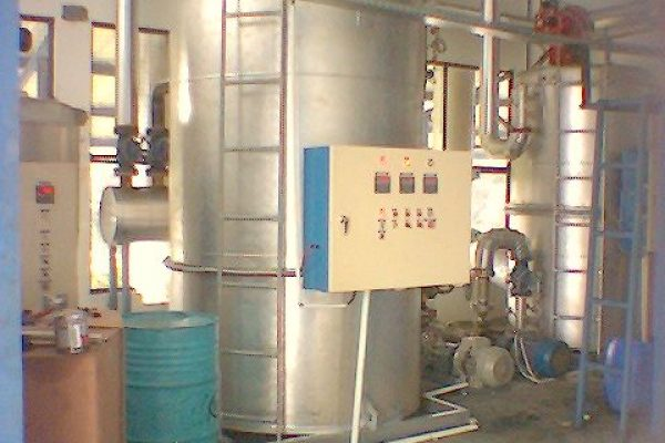 Thermal Oil Heater for Beverage Processing Plant
