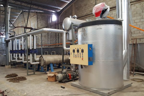 Thermal Oil Heater for Degreasing Plant