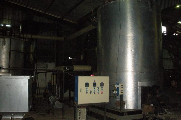Thermal Oil Heater in Asphalt Processing Plant