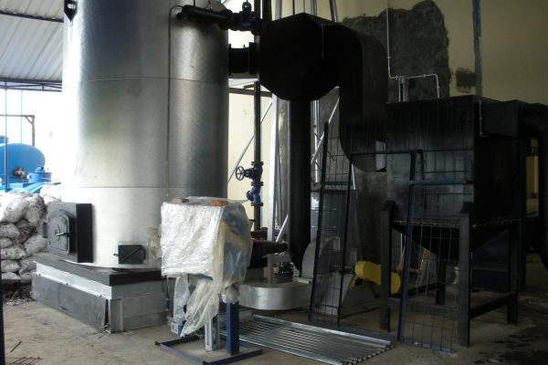 Thermal Oil Heater in Asphalt Processing Plant(1)