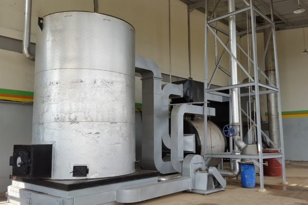 Thermal Oil Heater in Beverage Processing Plant (2)