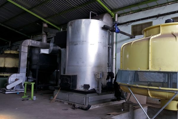 Thermal Oil Heater in Beverage Processing Plant(1)