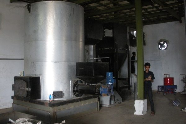 Thermal Oil Heater in Chilli Sauce Processing Plant