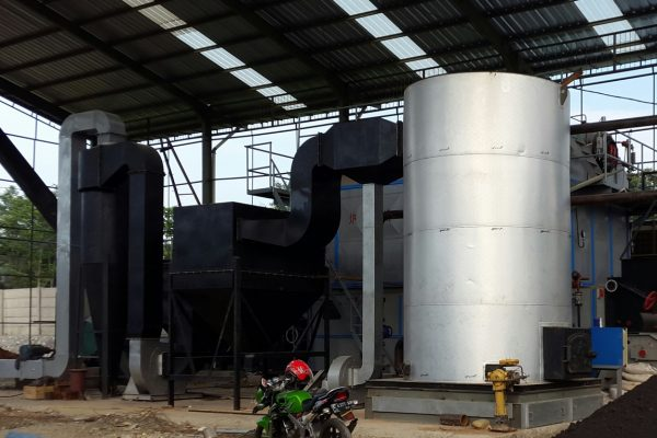 Thermal Oil Heater in Dye Processing Plant