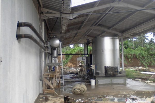 Thermal Oil Heater in Fish Canning Plant