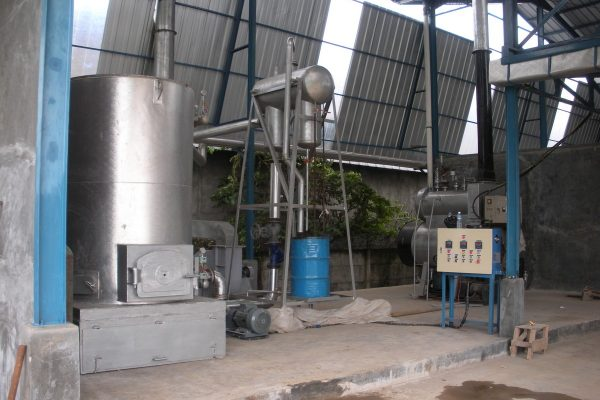 Thermal Oil Heater in Herbal Drying Plant