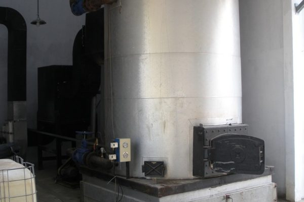 Thermal Oil Heater in Jelly Processing Plant