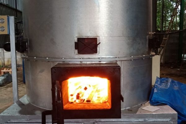 Thermal Oil Heater in Wood Dry Kilning Plant (2)
