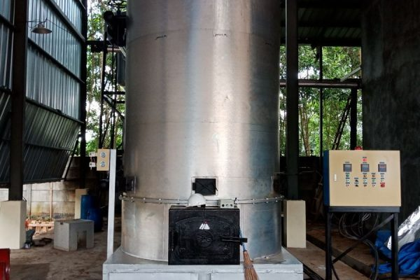 Thermal Oil Heater in Wood Dry Kilning Plant